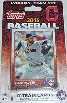 2015 Topps Cleveland Indians Factory Sealed Special Edition 17 Card Team Set with Nick Swisher Plus