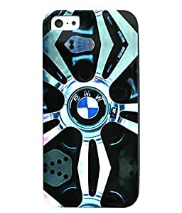 bmw silicone CASE BACK COVER FOR APPLE IPHONE 5/5S