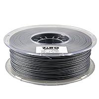 ZIRO 3D Printer Filament PLA 1.75 1KG(2.2lbs), Dimensional Accuracy +/- 0.05mm, Silver from ZIRO