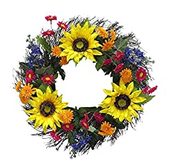Beautiful Spring Wreath ~ Mothers Day Gift