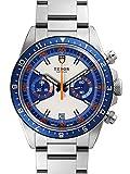 [チュードル]TUDOR 腕時計 ヘリテージ クロノ シルバー/ブルー 70330B メンズ [並行輸入品]