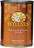Wellness Complete Health Natural Wet Canned Dog Food, Turkey & Sweet Potato Recipe, 12.5-Ounce Can (Value Pack of 12)