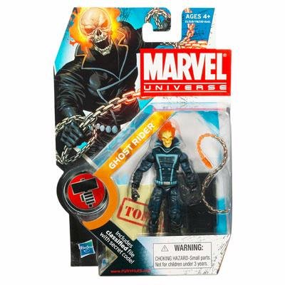 Marvel Universe 3 3/4 Inch Series 10 Action Figure Ghost Rider (Ghost Rider Figure compare prices)