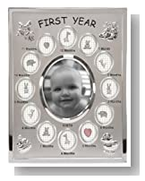 Malden Baby's First Year Collage Picture Frame
