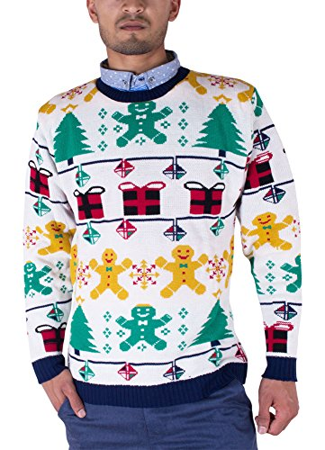 Mens-Unisex-70s-Jumpers-Sweater-Retro-Christmas-Knitwear-Top