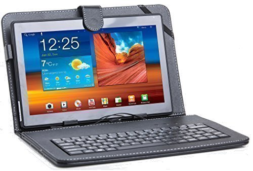 XIDO 110 - 10 Zoll Tablet Pc (10,1 Zoll) Tablet-PC Tastatur, 1 GB RAM, 16GB Speicher, Android 5.1 Lollipop Quad Middle, Computer
