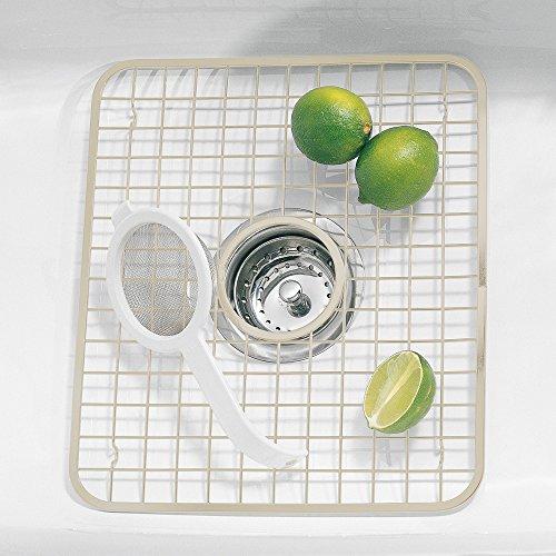 InterDesign Gia Kitchen Sink Protector Grid Mat