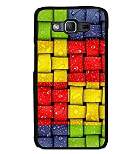 Printvisa Wet Weaving Pattern Back Case Cover for Samsung Galaxy On5::Samsung Galaxy On5 G550FY