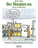 Skorpion 2016: Sternzeichen-Cartoonkalender