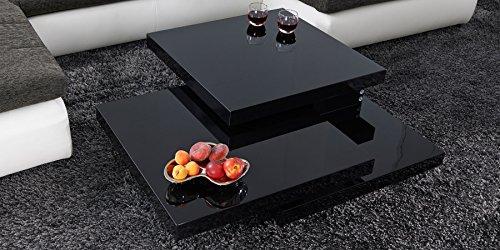 Couchtisch-schwarz-Hochglanz-Cube-120x70cm-Designer-Wohnzimmertisch-Ebene-Drehbar-Schwenkbar