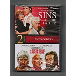 2 Films: James Coburn Sins Of The Father/ A Reason To Live, A Reason To Die (James Coburn, Telly Savalas, Bud Spencer)