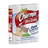 Charmin Ultra Strong 9 Large Rolls, 132 2-Ply Sheets per Roll (Pack of 5)