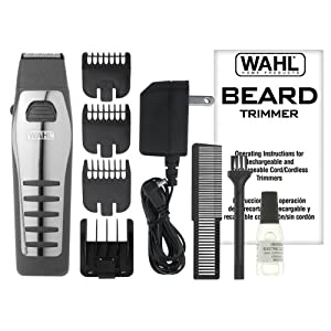 wahl 9876 536 rechargeable cordless beard trimmer beard trimmer reviews. Black Bedroom Furniture Sets. Home Design Ideas