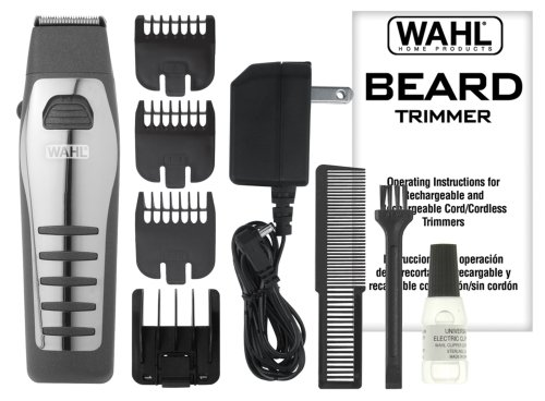 wahl 9876 536 rechargeable cordless beard trimmer best. Black Bedroom Furniture Sets. Home Design Ideas