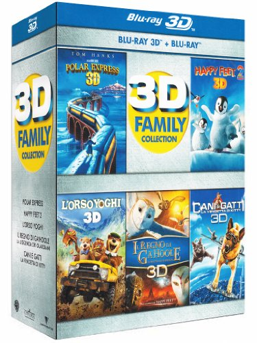 3D family collection (3D+2D) [Blu-ray] [IT Import]