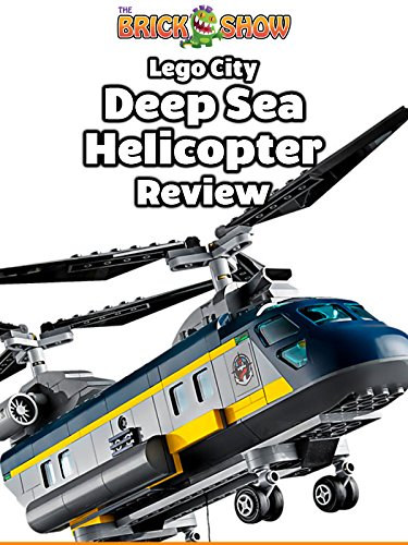 LEGO City Deep Sea Helicopter Review (60093)