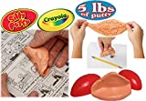 Crayola Original Silly Putty 5 Pound Case of Putty and Mini Egg Bulk Set