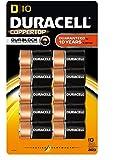 Duracell Coppertop D Batteries 10 Count
