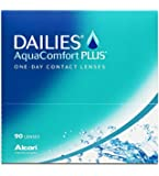 Dailies AquaComfort Plus Tageslinsen weich, 90 Stück / BC 8.7mm / DIA 14.0 / -4,00 Dioptrien
