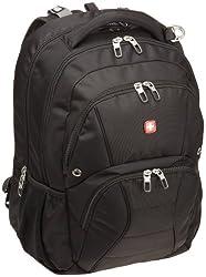 SwissGear SA1908 ScanSmart Backpack (Black) Fits Most 17 Inch Laptops
