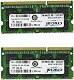 Crucial 8GB Kit (4GBx2) DDR3/DDR3L 1066 MT/s (PC3-8500)  SODIMM 204-Pin Mac Memory CT2K4G3S1067M / CT2C4G3S1067M