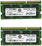 Crucial 8GB Kit (4GBx2) DDR3/DDR3L 10...