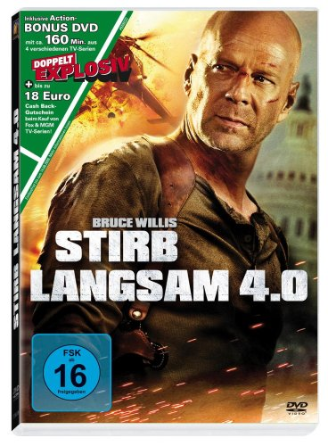 Stirb langsam 4.0 (+ Bonus DVD TV-Serien)