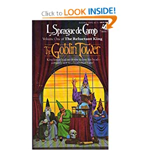 The Goblin Tower by L. Sprague de Camp-1st Ballantine PB Printing-1983