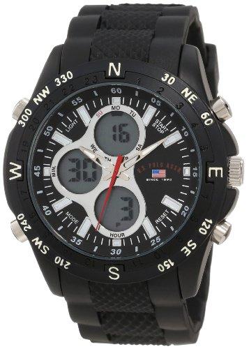 U.S. Polo Assn. Sport Men's US9140 Black Rubber