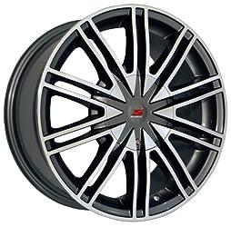 16×7 Sendel S07 (Silver Machined) Wheels/Rims 5×112/114.3 (S07-67204HSM)