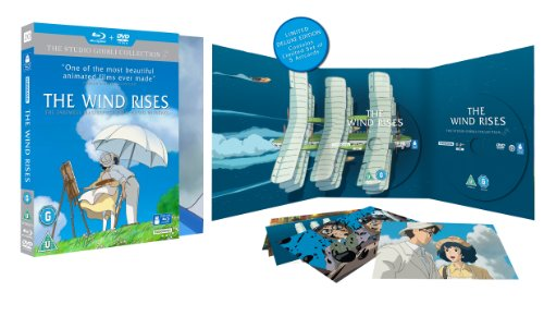 Sale alerts for Studiocanal The Wind Rises (Collector's Edition) - Double Play [Blu-ray + DVD] [Region Free] - Covvet