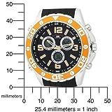 U.S. Polo Assn. Men's US9072 Analog-Digital Black Dial Black Rubber Strap Watch