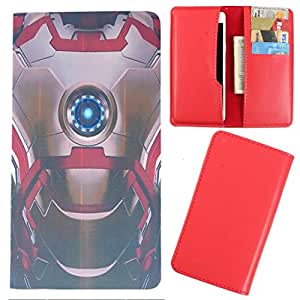 DooDa - For Gionee Pioneer P3 PU Leather Designer Fashionable Fancy Case Cover Pouch With Card & Cash Slots & Smooth Inner Velvet