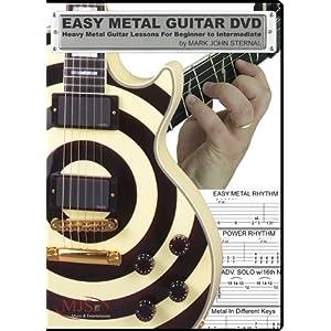 EASY METAL GUITAR DVD - Heavy Metal Guitar Lessons For Beginner through Intermediate
