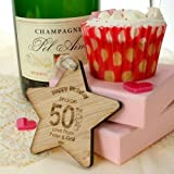 Special 50th birthday gift, 50th birthday keepsake, 50th gift ideas for her, 50th wooden gifts, Womens 50th Birthday Gift