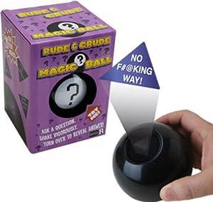 Rude & Crude Magic Answer Ball