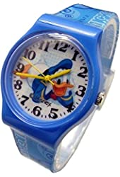 """Disney Watch For Kids Donald Duck..Large Analog Dial. 9""""L Band."""