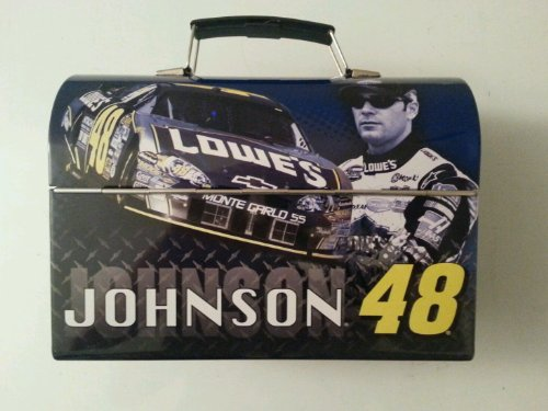 Buy 2007 Jimmie Johnson #48 Lowes Metal Lunch Box Lunchbox Winners Circle by Winners Circle