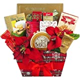 Seasons Greetings Christmas Holiday Gourmet Food Gift Basket