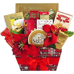 Art of Appreciation Gift Baskets Season's Greetings Christmas Holiday Gourmet Food Gift Basket