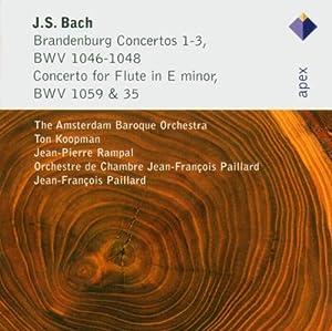 J.S. Bach: Brandenburg Concertos 1-3 & Flute Concerto