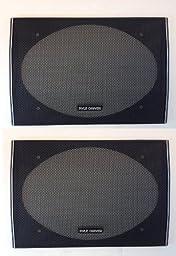 6 X 9 CLASSIC SPEAKER GRILLS (PAIR)