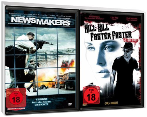 FSK 18 Spar-Set 2 DVDs Thriller : News Makers + Kill Kill Faster Faster