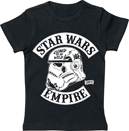 Star Wars Cloned To Be Wild Maglia bimbo/a nero 128