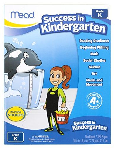 Mead Success In Kindergarten Workbook, Grades Pk-K (48140) front-970522
