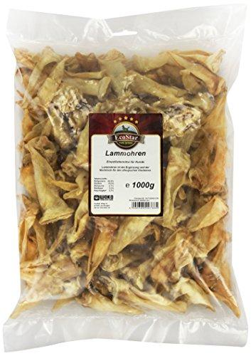 Artikelbild: EcoStar Hunde Snack Lammohren 1kg, 1er Pack (1 x 1 kg)
