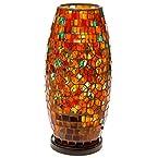 Coral Mosaic Lamp