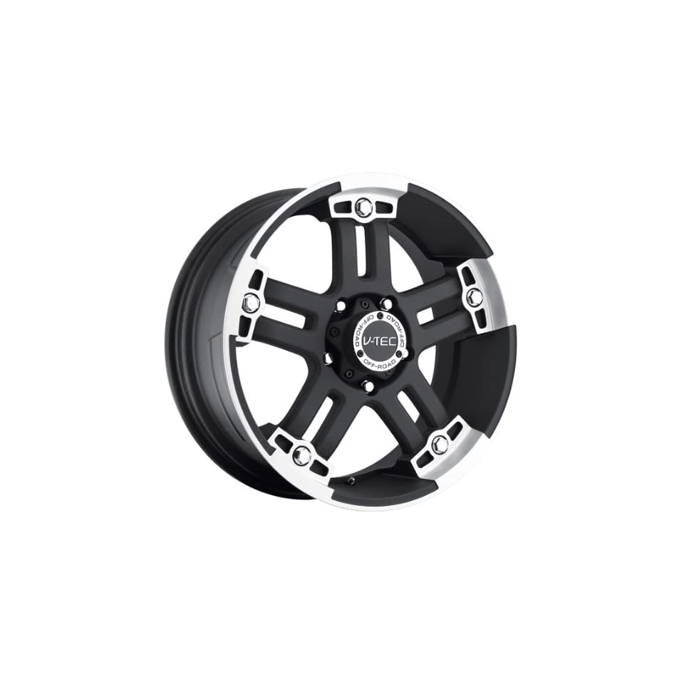 VISION WHEEL   394 warlord   20 Inch Rim x 9   (6x5.5) Offset (0) Wheel Finish   black machined face