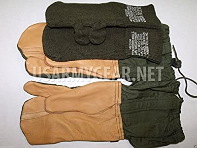 Army Cold Weather Military Trigger Finger Hunting Sniper Gloves Mitten Insert Medium M