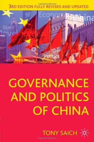 Governance and Politics of China: Third Edition...